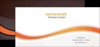 modele flyers web design orange gris texture MIF77204