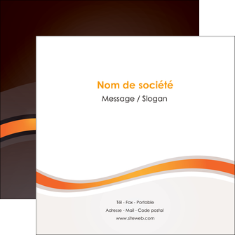 realiser flyers web design orange gris texture MIF77208