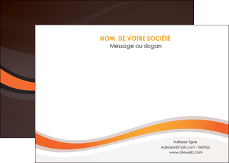 imprimer flyers web design orange gris texture MIF77212