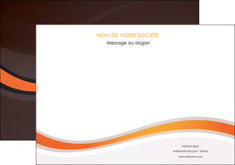 faire affiche web design orange gris texture MIF77236