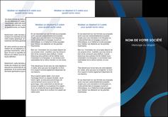 maquette en ligne a personnaliser depliant 3 volets  6 pages  web design noir fond noir bleu MLGI78684