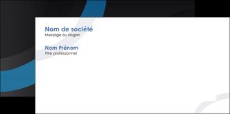 faire modele a imprimer enveloppe web design noir fond noir bleu MLGI78696