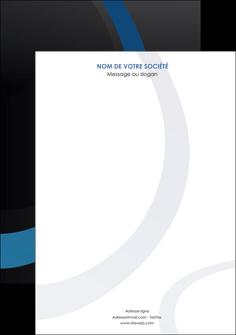 imprimerie affiche web design noir fond noir bleu MLGI78714