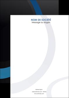 creer modele en ligne flyers web design noir fond noir bleu MLGI78724