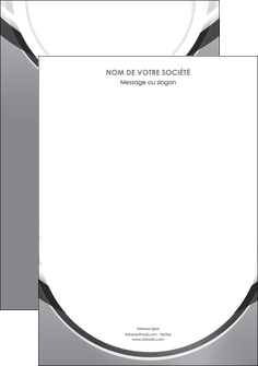 maquette en ligne a personnaliser affiche web design gris fond gris rond MLIG78952