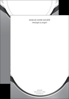 modele en ligne affiche web design gris fond gris rond MLIG78954