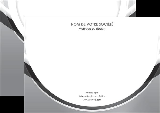 creer modele en ligne affiche web design gris fond gris rond MLIG78968