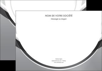personnaliser maquette affiche web design gris fond gris rond MIS78972