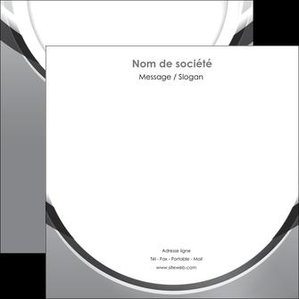 realiser flyers web design gris fond gris rond MLIG78984
