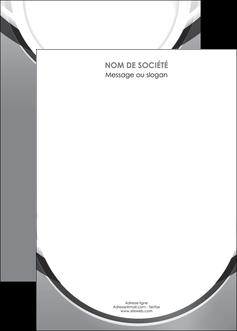personnaliser maquette affiche web design gris fond gris rond MIS78994
