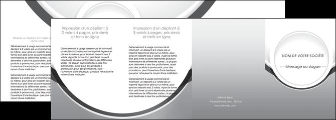 creer modele en ligne depliant 4 volets  8 pages  web design gris fond gris rond MLIG78998