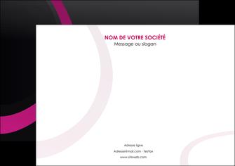 personnaliser maquette affiche web design noir fond noir violet MIF79002