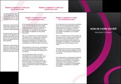 Impression depliant a7 3 volet Web Design devis d'imprimeur publicitaire professionnel Dépliant 6 pages pli accordéon DL - Portrait (10x21cm lorsque fermé)