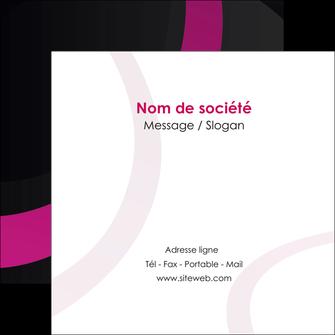 faire modele a imprimer flyers web design noir fond noir violet MIF79016