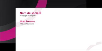 faire modele a imprimer enveloppe web design noir fond noir violet MIF79020