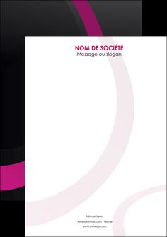 personnaliser modele de flyers web design noir fond noir violet MIF79048