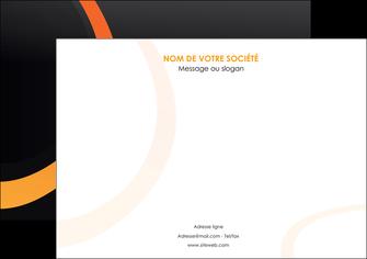 modele en ligne affiche web design noir orange texture MIF79106
