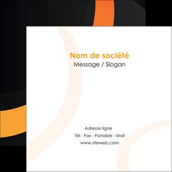 maquette en ligne a personnaliser flyers web design noir orange texture MIF79120