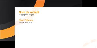 impression enveloppe web design noir orange texture MLGI79124