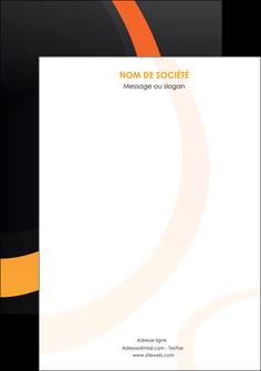 realiser affiche web design noir orange texture MIF79148