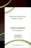 cree carte de visite web design noir fond noir vert MLGI79232