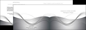 imprimer depliant 2 volets  4 pages  web design gris fond gris texture MIF79446