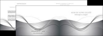 maquette en ligne a personnaliser depliant 2 volets  4 pages  web design gris fond gris texture MIF79448