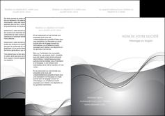 maquette en ligne a personnaliser depliant 3 volets  6 pages  web design gris fond gris texture MIF79456