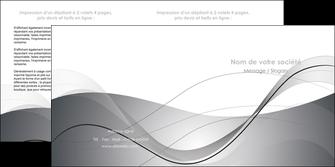 creation graphique en ligne depliant 2 volets  4 pages  web design gris fond gris texture MIF79460