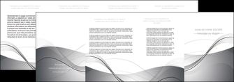 personnaliser modele de depliant 4 volets  8 pages  web design gris fond gris texture MIF79472