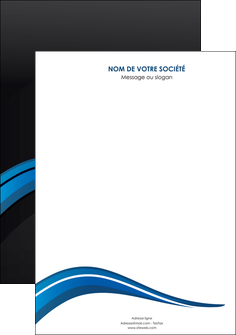 imprimerie affiche web design bleu couleurs froides gris MIF79548