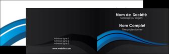 creation graphique en ligne carte de visite web design bleu couleurs froides gris MLGI79554
