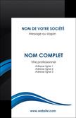 personnaliser maquette carte de visite web design bleu couleurs froides gris MLGI79556