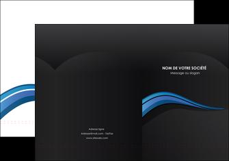 exemple pochette a rabat web design bleu couleurs froides gris MIF79558