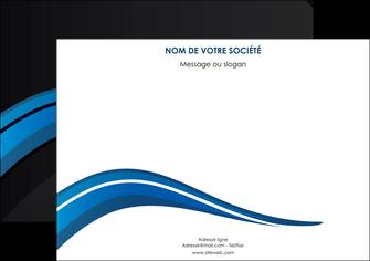 exemple affiche web design bleu couleurs froides gris MIF79566