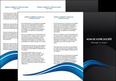Impression Plaquette entreprise Web Design devis d'imprimeur publicitaire professionnel Dépliant 6 pages pli accordéon DL - Portrait (10x21cm lorsque fermé)