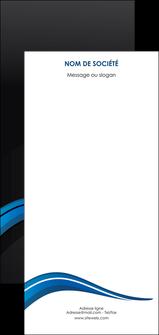 modele flyers web design bleu couleurs froides gris MIF79596