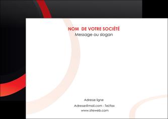 modele en ligne flyers web design rouge rond abstrait MLGI79658