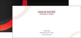modele flyers web design rouge rond abstrait MIF79666
