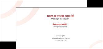 maquette en ligne a personnaliser carte de correspondance web design rouge rond abstrait MIF79668