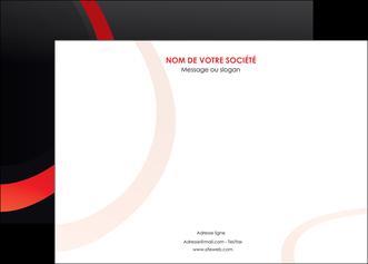 creer modele en ligne affiche web design rouge rond abstrait MIF79672