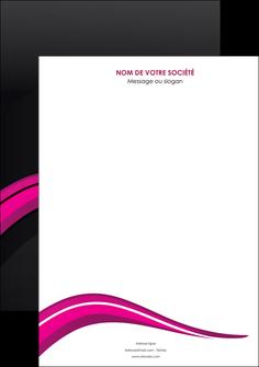 modele en ligne affiche web design violet fond violet arriere plan MIF80302