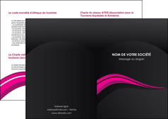 personnaliser maquette depliant 2 volets  4 pages  web design violet fond violet arriere plan MLGI80304