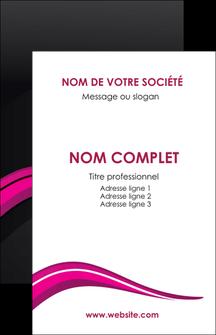 Impression carte de visite couché brillant pelliculage Web Design papier à prix discount et format Carte de visite - Portrait