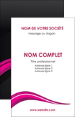 imprimerie carte de visite web design violet fond violet arriere plan MLGI80308