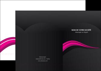imprimer pochette a rabat web design violet fond violet arriere plan MIF80310