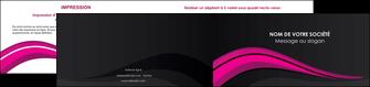 creation graphique en ligne depliant 2 volets  4 pages  web design violet fond violet arriere plan MIF80334