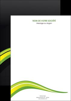 personnaliser maquette affiche paysage vert gris nature MIF80352