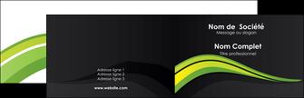 realiser carte de visite paysage vert gris nature MIF80358