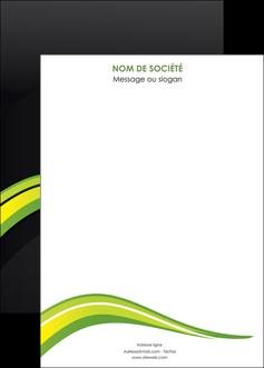 imprimerie affiche paysage vert gris nature MIF80394